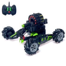 Машина-робот радиоуправляемая «Кибер танк», стреляет мягкими пулями, световые эффекты