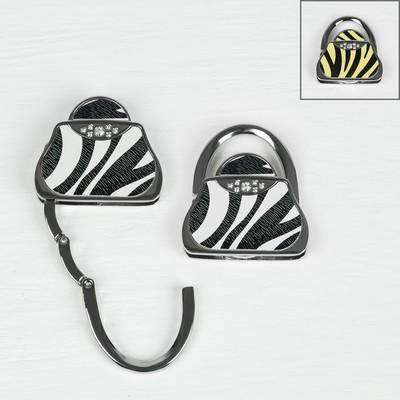 """Крючок-подвеска для сумки и зонта раскладной """"Сумочка сафари"""", цвета МИКС"""