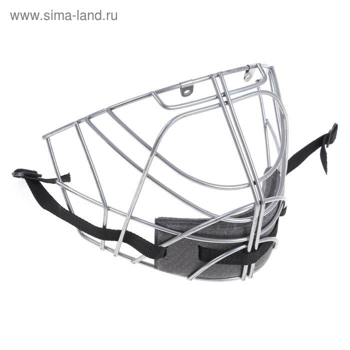 Маска хоккейная вратаря М709, цвета МИКС