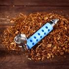 Трубка курительная Tobacco Pipes с обрезиненной ручкой, 9 см, микс