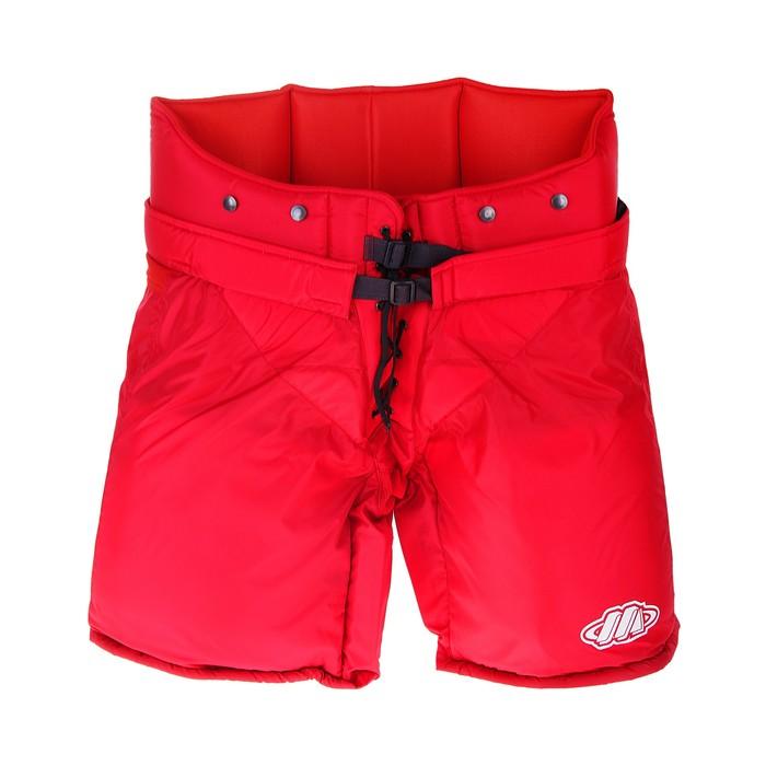 Шорты вратаря, размер 50, цвет: красный
