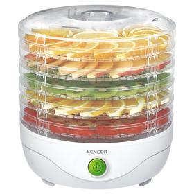 Сушилка для овощей и фруктов Sencor SFD 750WH, 250 Вт, 5 ярусов, белая