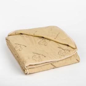 """Одеяло облегчённое Адамас """"Верблюжья шерсть"""", размер 140х205 ± 5 см, 200гр/м2, чехол п/э"""