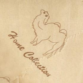 """Одеяло облегчённое Адамас """"Верблюжья шерсть"""", размер 200х220 ± 5 см, 200гр/м2, чехол п/э - фото 62577"""