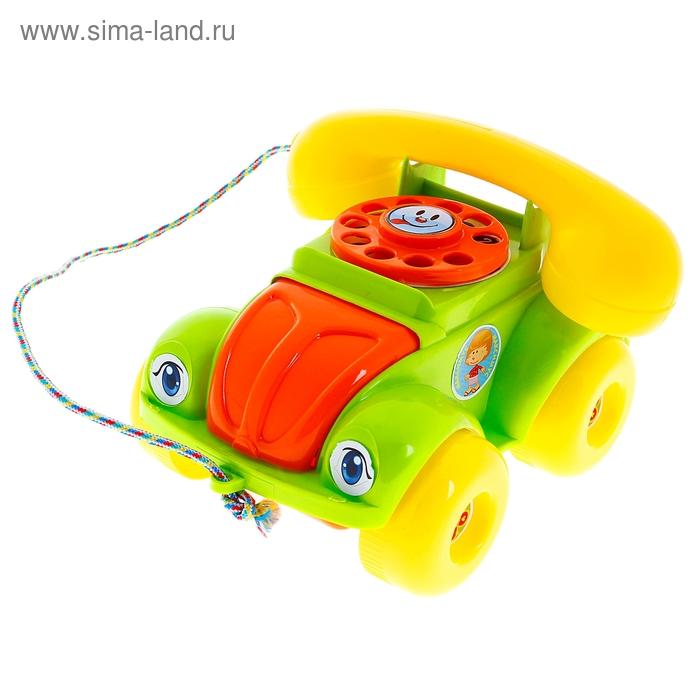 """Каталка """"Телефон"""", цвета МИКС"""