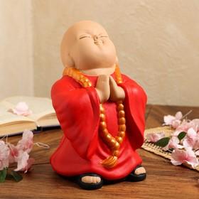 """Копилка """"Монах"""" красный, 23,5 см"""