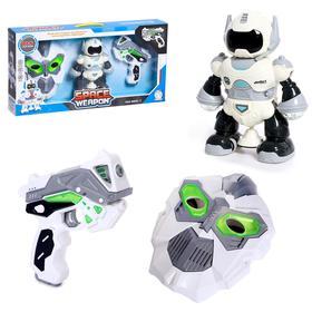 """Game set """"Space Hero"""": mask, robot, gun"""