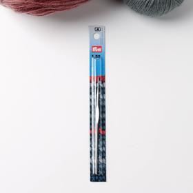Крючок для вязания, для тонкой пряжи, c направляющей площадью, d = 1,5 мм, 12,5 см