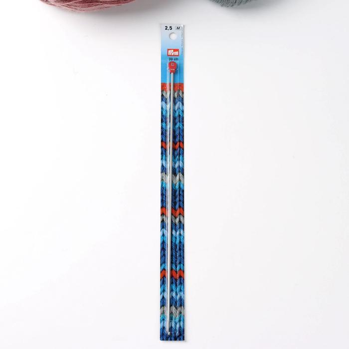 Крючок для вязания, тунисский, d = 2,5 мм, 30 см - фото 7389270