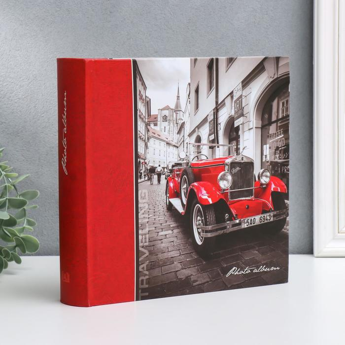 "Фотоальбом ""Машина"" на 200 фото, 50 листов, 10х15 см - фото 862196"