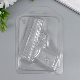 "Пластиковая форма ""Пистолет"" 10х8 см"
