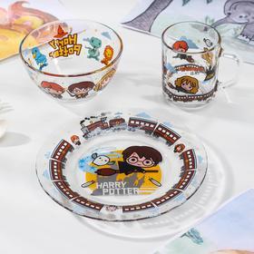 Набор посуды Priority «Гарри Поттер», 3 предмета