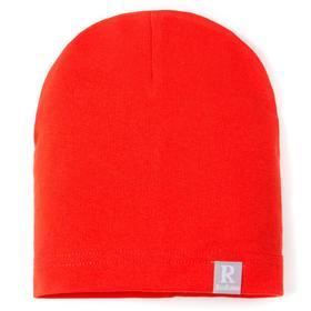 Шапка для девочки, цвет оранжевый, размер 44-47 см (9-18 мес.)