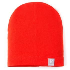 Шапка для мальчика, цвет оранжевый, размер 41-44 см (6-9 мес.)