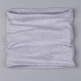 Снуд детский, цвет светло-серый, размер 23х23