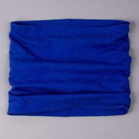 Снуд детский, цвет синий, размер 25х25