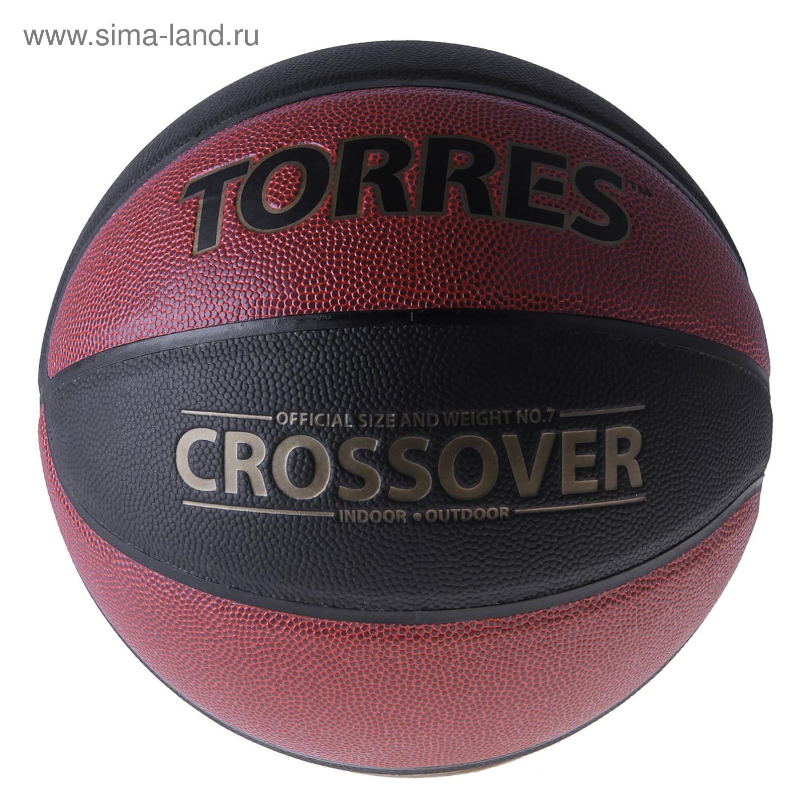 cb819029 Мяч баскетбольный Torres Crossover, B30097, размер 7 (746182 ...