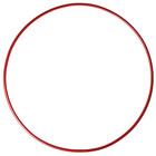 Hoop gymnastic, steel, d=90 cm, 900 g, color: red