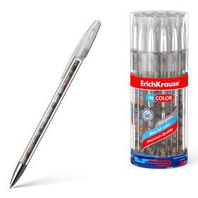 Ручка гелевая дизайн ErichKrause InColor Rough Native, чернила синие 48785