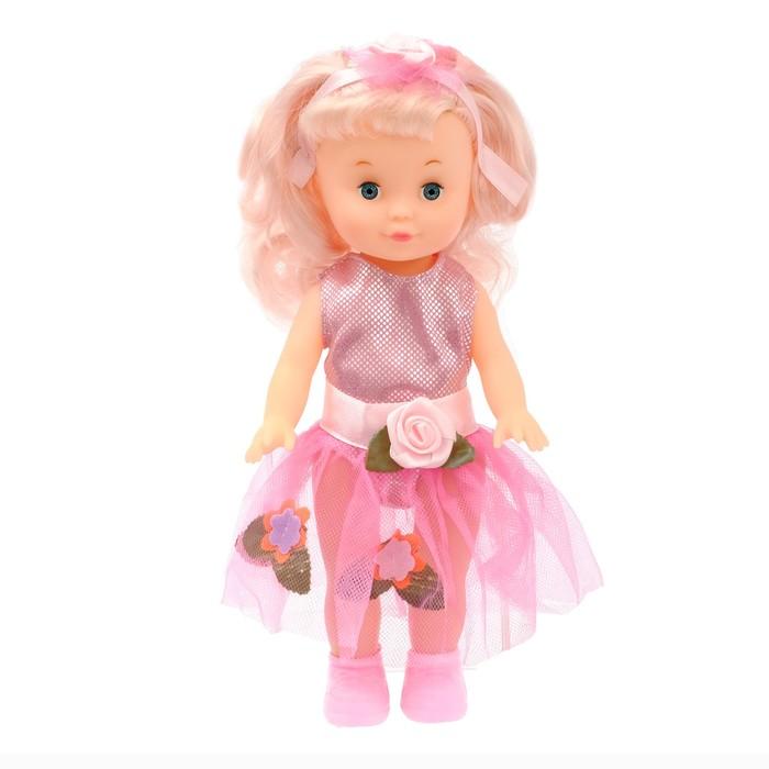 Кукла «Оленька» в платье, МИКС