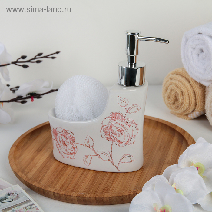 """The detergent dispenser 250 ml with sponge stand for """"Dream"""""""