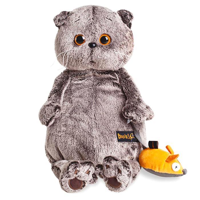 Мягкая игрушка «Басик и мышка», 25 см - фото 1570965