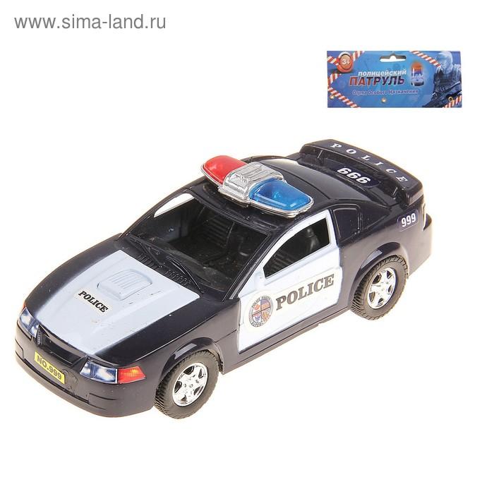 """Машина инерционная """"Полицейский патруль"""""""