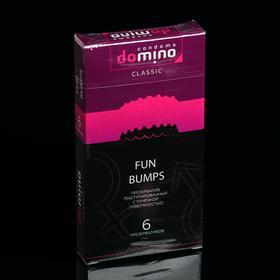 Презервативы DOMINO CLASSIC Fun Bumps 6 шт