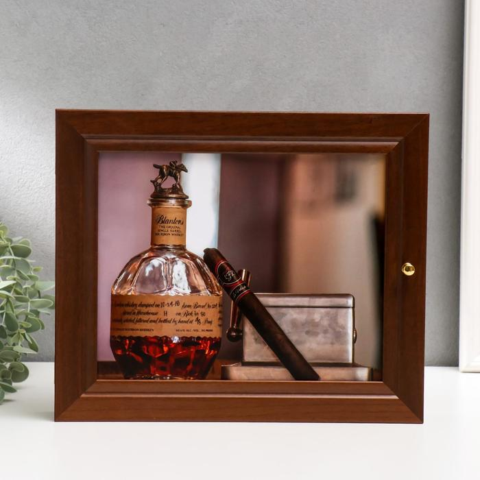 """Ключница """"Виски""""  26х31 см - фото 862309"""