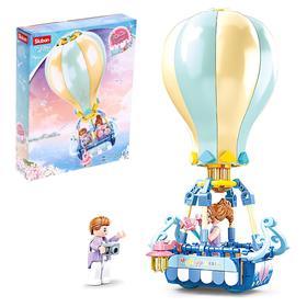 Конструктор Розовая мечта «Воздушный шар», 124 детали