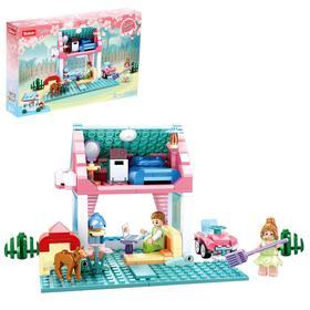 Конструктор Розовая мечта «Загородный дом», 244 детали