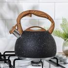 Чайник со свистком «Мрамор», 3 л - фото 786077