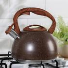 Чайник со свистком «Мрамор», 3 л - фото 786083