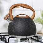 Чайник со свистком «Мрамор», 3 л - фото 786095
