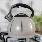 Чайник со свистком «Мрамор», 3 л - фото 786131