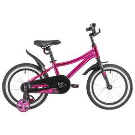 """Велосипед 16"""" Novatrack Prime, цвет розовый"""