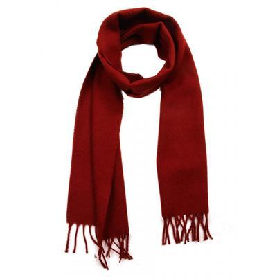 Шарф мужской, размер 25х160 см, цвет бордовый