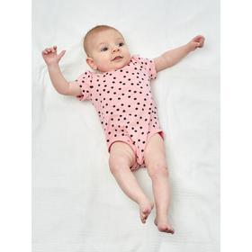 Боди для девочки, рост 62 см, цвет розовый
