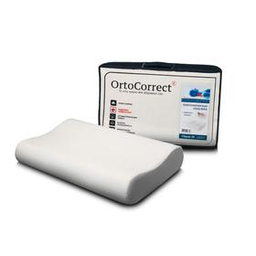 Anatomical pillow OrtoCorrect Classic M 58x37, rollers 9/11.