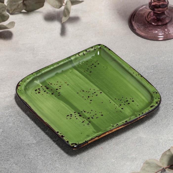 Блюдо квадратное «Бризе», 14,5×14,5 см - фото 564746