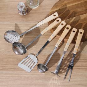 Набор кухонных принадлежностей Труд Вача «Ретро», 6 предметов