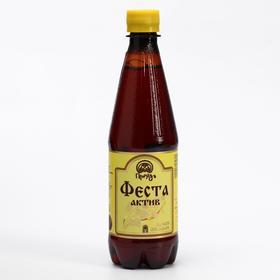 Напиток газированный «Феста актив» с чагой , 500 мл