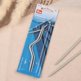 Вспомогательные спицы для вязания, изогнутые, d = 2,5/4 мм, 2 шт