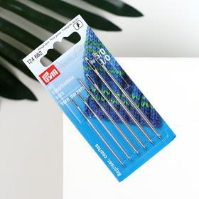 Darning needles 5 / 0-1 / 0 steel.