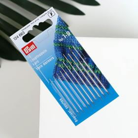 Darning needles No. 1-9 steel.
