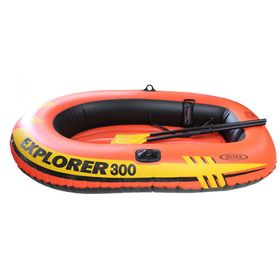 Boat Explorer 300, 3 seater., 211h117h41 cm (oars, pump), up to 186 kg 58332NP INTEX.