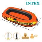 Лодка Explorer Pro 200, 2х-мест., вёсла, насос, от 6 лет, до 120 кг 58357NP INTEX