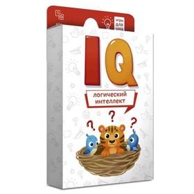 Карточная игра «Логический интеллект», 40 карточек 8х12 см