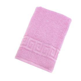 Полотенце махровое однотонное Антей цв розовый 40*70см 100% хлопок 430 гр/м2