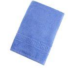 Полотенце махровое однотонное Антей цв голубой 50*90см 100% хлопок 400 гр/м